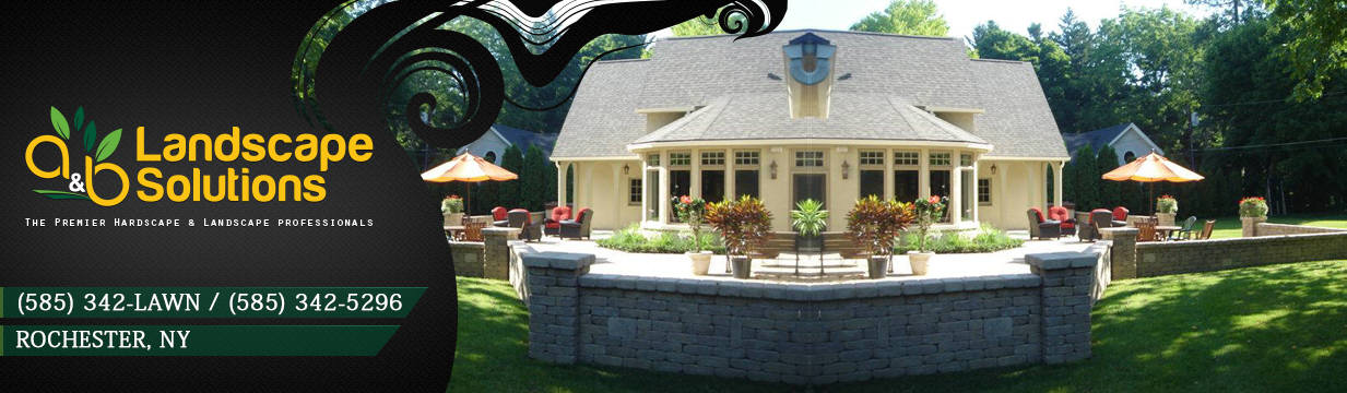A&B Landscape Solutions of Rochester NY - ROCHESTER HARDSCAPES-LANDSCAPING-585-342-LAWN